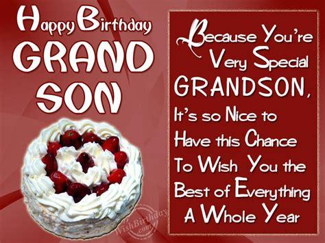 Happy Birthday Wishes To Grandson Birthday Wishes For Grandson Birthday Images Pictures
