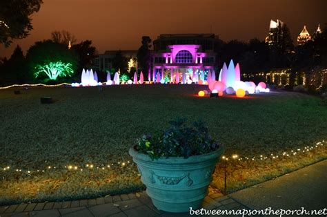 Lights Atlanta Botanical Gardens Atlanta Botanical Gardens Garden Lights Nights