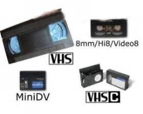 trasferire cassette vhs su pc da cassette di vecchie telecamere a dvd