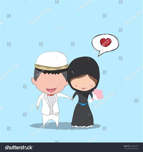 Muslimah Wedding Vector by Muslim Wedding Vector Adultcartoon Co