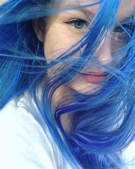 dye hair blue without blue hair colors ideas