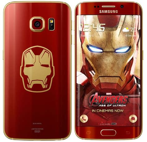 Hp Samsung S6 Limited Edition limited edition samsung galaxy s6 edge iron smartphone goes for a whopping 91 600 on auction