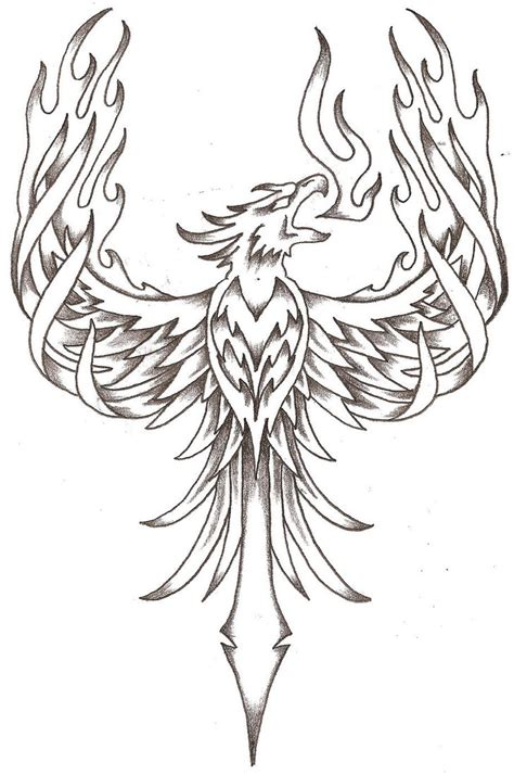 phoenix bird tattoos on tattoos