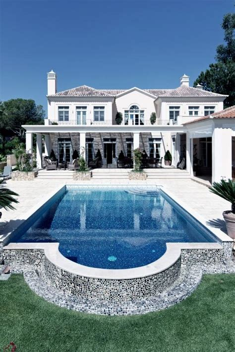 beautiful all white house with pool 40 fantastic outdoor pool ideas renoguide