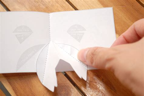 What Makes Up Paper - how to make a pig pop up card robert sabuda method