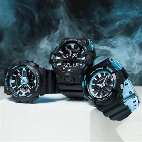 Casio G Shock Ga 700pc 1a casio g shock ga 700pc 1a s black blue free shipping dealextreme