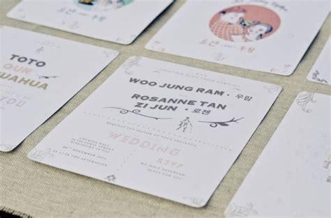 Wedding Invitation Cards Printing Singapore by 9 Creative Wedding Invitation Suite Designers In Singapore
