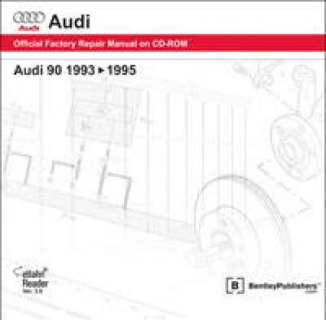 service manual old car repair manuals 1995 audi s6 engine control 1995 audi c4 s6 v8 leather audi 90 1993 1995 repair manual on cd rom