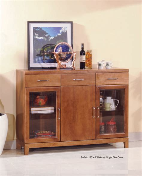 solid wood living room furniture china solid wood glass buffet for living room furniture