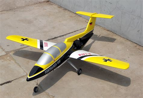 Hi Mm Yellow Airplane 2621 electric ducted fan rc trainer plane newest edf 101mm