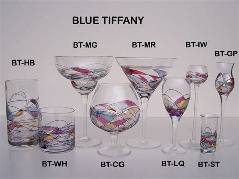 Handmade Glassware - blue european handmade glassware blown
