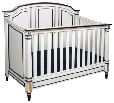 Afk Cribs by Afk Sailor Two Tone Gold Gilding Crib Modern Cribs By Layla Grayce