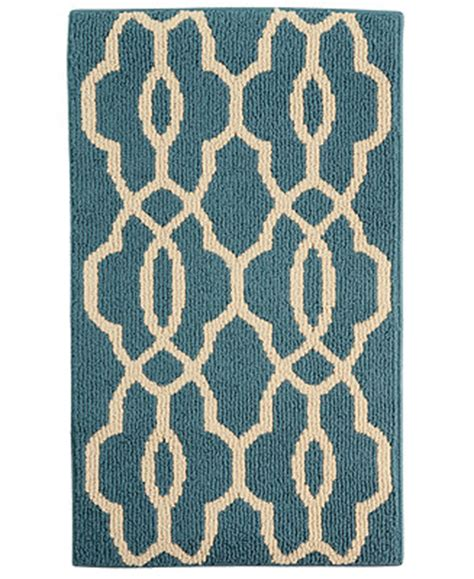 Maples Bath Rugs by Maples Currie Blue 20 Quot X 34 Quot Accent Rug A Macy S