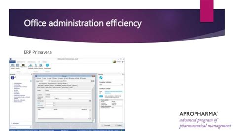 Office Administration And Management Course Outline by Office Administration Efficiency Apropharma 2015