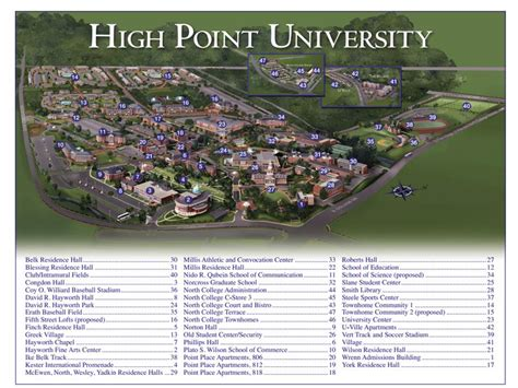 welcome to ncas 2017 ncas 2017 high point university hpu cus map my blog