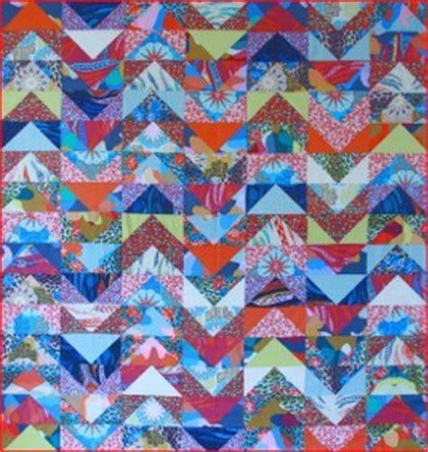 Chevron Stripe Quilt Pattern by Groovy Chevron Stripe Quilt Favequilts