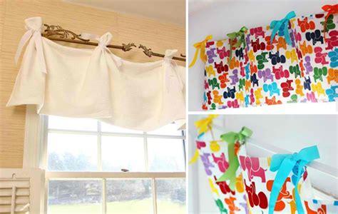 Window Valance Ideas For Kitchen Gardinen Selber N 228 Hen 20 Tolle Diy Gardinenideen