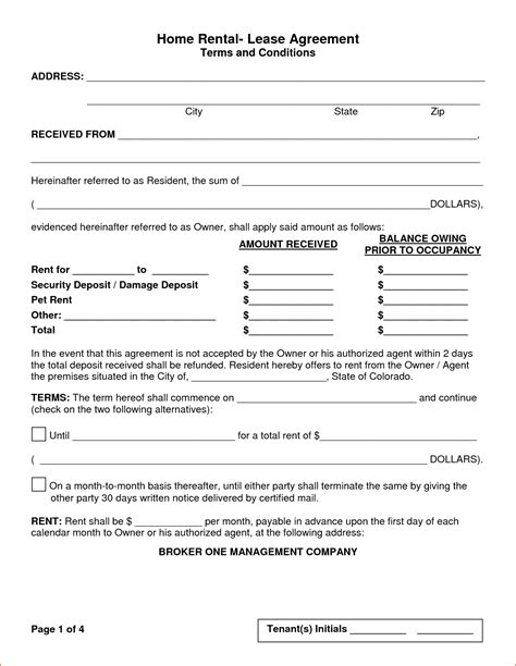 house rental agreement sample sample contract for renting a room in a house small