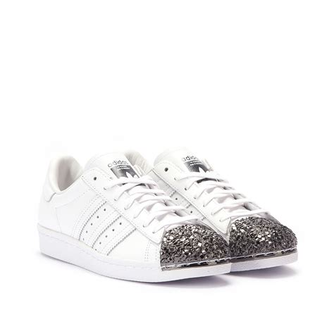 Adidas Superstar Metal adidas superstar 80s w quot metal toe quot tf white black s76532