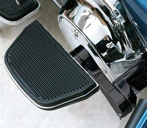 Harley Davidson Passenger Floorboards by Harley Black Adjustable Passenger Floorboard Mounts Rivco