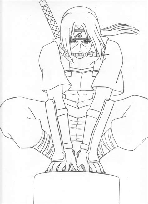 itachi and sakura coloring pages coloring pages