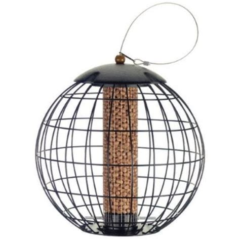 gardman squirrel proof cage peanut bird feeder squirrel
