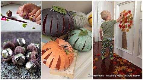18 diy fall crafts suitable for homesthetics