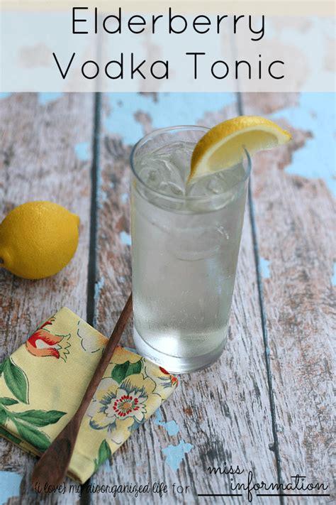 vodka tonic recipe elderberry vodka tonic recipe vodka tonic cocktail