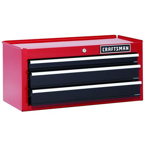 Craftsman Three Drawer Tool Box by Craftsman 3 Drawer 26 Quot Tool Storage Steel Heavy Duty
