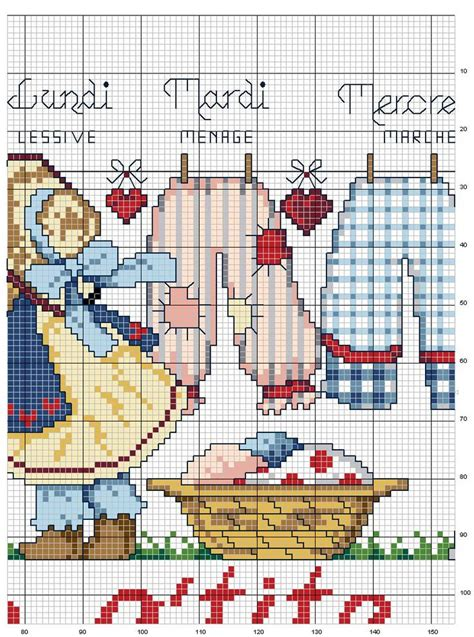 cross stitch pattern clothes line 97 best images about tuba kanevi 231 e on pinterest