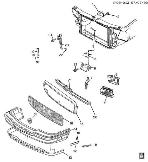 buick lesabre parts buick lesabre parts front end