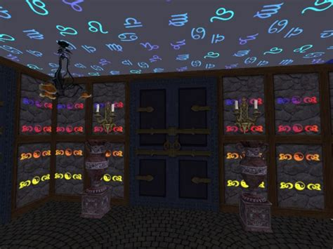 mod the sims glow in the dark neon walls ceilings