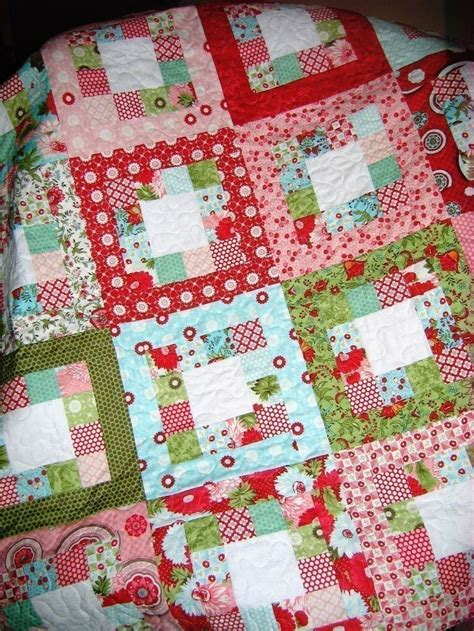 Jelly Roll Patchwork Quilt Patterns - 137 best images about quilt ideas on cross