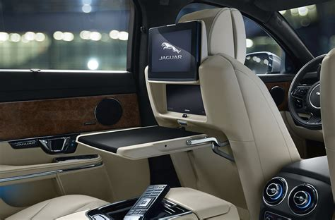 jaguar cars interior 2018 jaguar xj interior design features jaguar usa