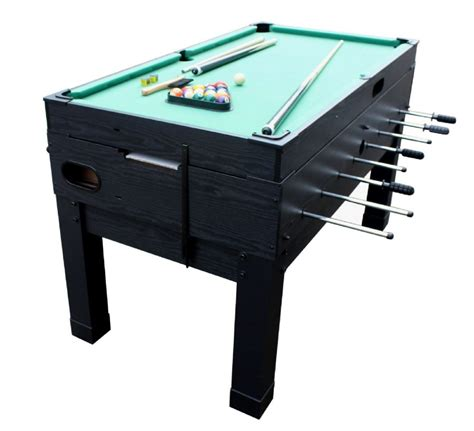 foosball and pool table 13 in 1 combination game table in black the danbury