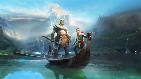 god  war kratos  atreus animated wallpaper youtube