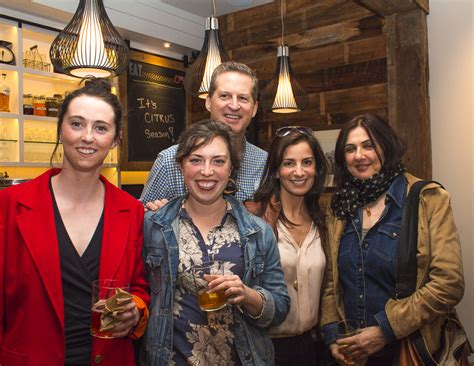Enya Greenwich back 40 kitchen celebrates edible nutmeg with foodies and tasty nibbles greenwich free press