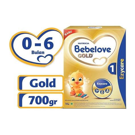 Bebelove Gold 1 Ezycare 700 Gr jual nutricia bebelove gold 1 ezycare nutricia bebelove