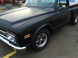 classic chevy truck with flat black paint joe s stereo
