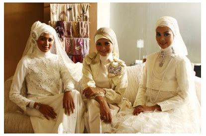 tutorial jilbab ala pengantin cara memakai jilbab pengantin muslimah by irna la perle