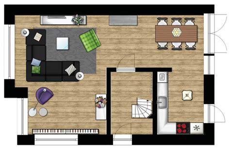 indeling woonkamer plattegrond caroliens interieurstyling inrichting moderne woonkamer