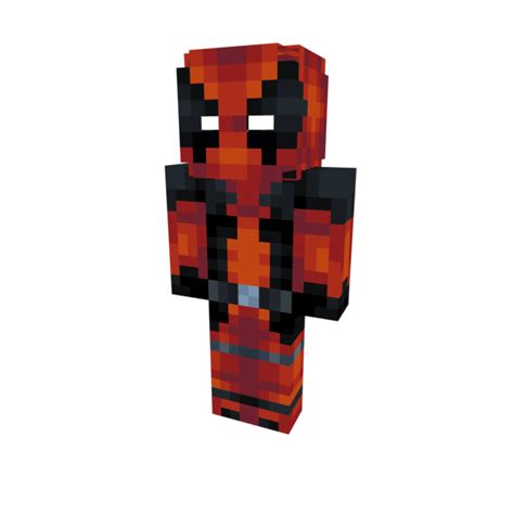 Minecraft Papercraft Deadpool - deadpool my 2nd skin minecraft skin