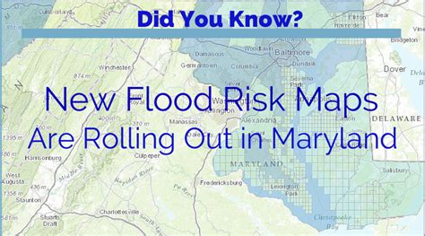 maryland flood map how new maryland flood risk maps affect you freedom