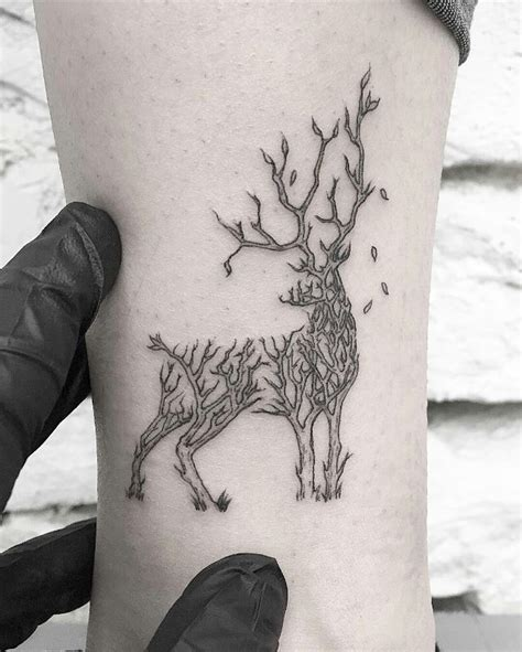 120 best deer tattoo meaning and designs wild nature 2018