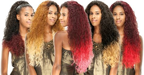 ambre hair on a nlone image gallery hair weaves ombre color