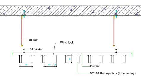 False Ceiling Details by Suspended False Ceiling Construction Details Integralbook