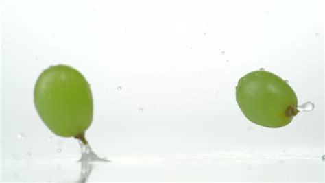 Bouncing Fruit by Fruit Falling And Bouncing On Water Surface