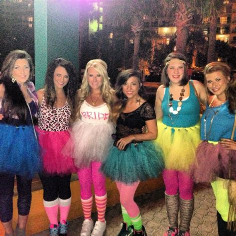 Themed Clothing Ideas | 80 s themed bachelorette trip our wedding pinterest