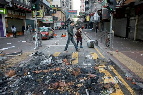 new year hong kong riot crackdown on new year food stalls sparks riot in
