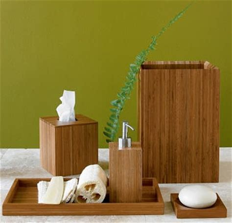 create your own zen spa with these bamboo accessories